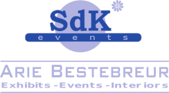 2019 klein Logo SdKevents Arie Bestebreur - Exhibits - Events - Interiors